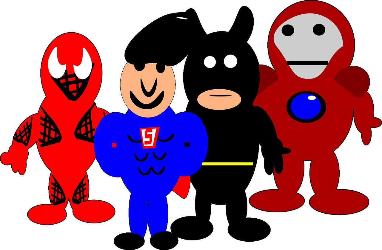 Unsere persönlichen Helden im Kautschukkostüm