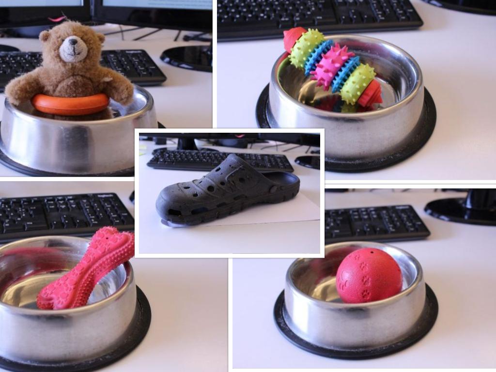 Hundespielzeug aus Gummi